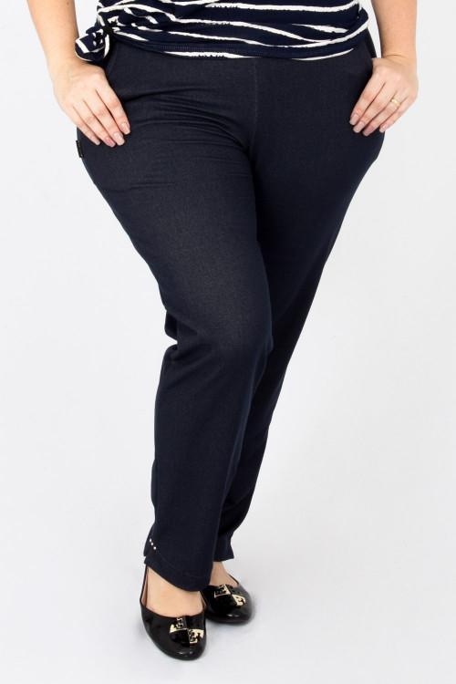 Cigarrete Malha Jeans com bolso